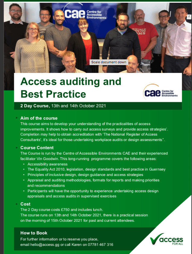 group of access auditors posing for a photo