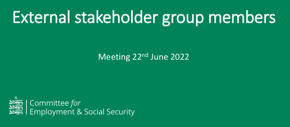 ESS stakeholder group update